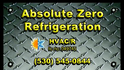 ***absolute zero refrigeration***